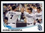 2013 Topps Update #294  Chris Denorfia  Front Thumbnail