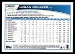 2013 Topps Update #291  Logan Schafer  Back Thumbnail