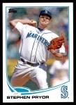 2013 Topps Update #284  Stephen Pryor  Front Thumbnail