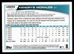 2013 Topps Update #269  Kendrys Morales  Back Thumbnail