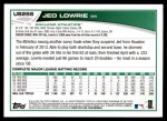 2013 Topps Update #266  Jed Lowrie  Back Thumbnail