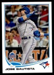 2013 Topps Update #258   -  Jose Bautista All-Star Front Thumbnail