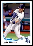 2013 Topps Update #256  Luke Scott  Front Thumbnail