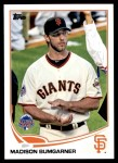 2013 Topps Update #249   -  Madison Bumgarner All-Star Front Thumbnail