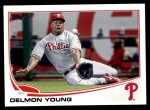 2013 Topps Update #242  Delmon Young  Front Thumbnail