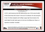 2013 Topps Update #239   -  Justin Masterson All-Star Back Thumbnail
