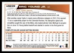 2013 Topps Update #238  Eric Young Jr.  Back Thumbnail