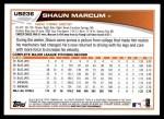 2013 Topps Update #236  Shaun Marcum  Back Thumbnail