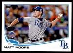 2013 Topps Update #228   -  Matt Moore All-Star Front Thumbnail