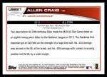 2013 Topps Update #221   -  Allen Craig All-Star Back Thumbnail