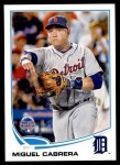 2013 Topps Update #218   -  Miguel Cabrera All-Star Front Thumbnail