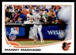 2013 Topps Update #216   -  Manny Machado All-Star Front Thumbnail