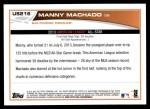 2013 Topps Update #216   -  Manny Machado All-Star Back Thumbnail
