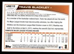 2013 Topps Update #215  Travis Blackley  Back Thumbnail