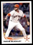 2013 Topps Update #215  Travis Blackley  Front Thumbnail