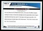 2013 Topps Update #214   -  Jean Segura All-Star Back Thumbnail