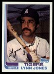 1982 Topps #64  Lynn Jones  Front Thumbnail