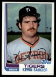 1982 Topps #238  Kevin Saucier  Front Thumbnail