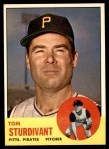 1963 Topps #281  Tom Sturdivant  Front Thumbnail