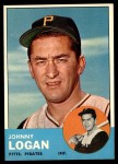 1963 Topps #259  Johnny Logan  Front Thumbnail