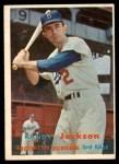 1957 Topps #190  Randy Jackson  Front Thumbnail