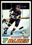 1977 Topps #107  Red Berenson  Front Thumbnail
