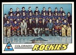 1977 Topps #76   Rockies Team Checklist Front Thumbnail