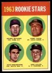 1963 Topps #54 III  -  Dave DeBusschere / Nelson Matthews / Harry Fanok / Jack Cullen  Rookie Stars Front Thumbnail