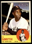 1963 Topps #16  Al Smith  Front Thumbnail