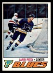 1977 Topps #199  Larry Patey  Front Thumbnail