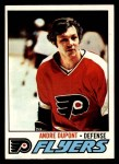 1977 Topps #164  Andre Dupont  Front Thumbnail