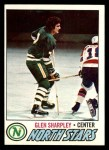 1977 Topps #158  Glen Sharpley  Front Thumbnail