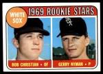 1969 Topps #173   -  Bob Christian / Gerry Nyman White Sox Rookies   Front Thumbnail