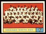 1961 Topps #7 YEL  White Sox Team Front Thumbnail