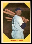 1960 Fleer #38  Johnny Mize  Front Thumbnail