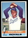 1976 Topps #260  Steve Busby  Front Thumbnail