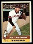 1976 Topps #456  Joe Coleman  Front Thumbnail