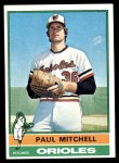 1976 Topps #393  Paul Mitchell  Front Thumbnail