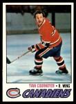 1977 Topps #230  Yvan Cournoyer  Front Thumbnail