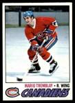 1977 Topps #163  Mario Tremblay  Front Thumbnail