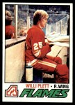 1977 Topps #17  Willi Plett  Front Thumbnail