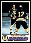 1977 Topps #104  Rick Smith  Front Thumbnail