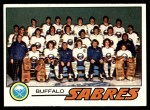 1977 Topps #73   Sabres Team Checklist Front Thumbnail