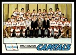 1977 Topps #88   Capitals Team Checklist Front Thumbnail
