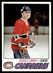 1977 Topps #254  Jacques Lemaire  Front Thumbnail