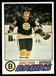 1977 Topps #190  Brad Park  Front Thumbnail