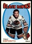 1971 Topps #110  Tony Esposito  Front Thumbnail