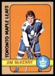 1972 Topps #54  Jim McKenny  Front Thumbnail