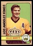 1972 Topps #167  Gilles Marotte  Front Thumbnail