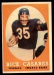 1958 Topps #53  Rick Casares  Front Thumbnail